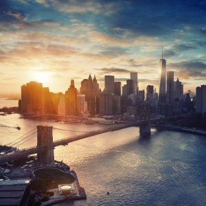 New York op Aluminium